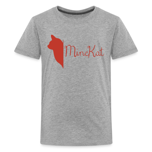 MineKat Premium Teenager Shirt | 10-12 - Teenage Premium T-Shirt