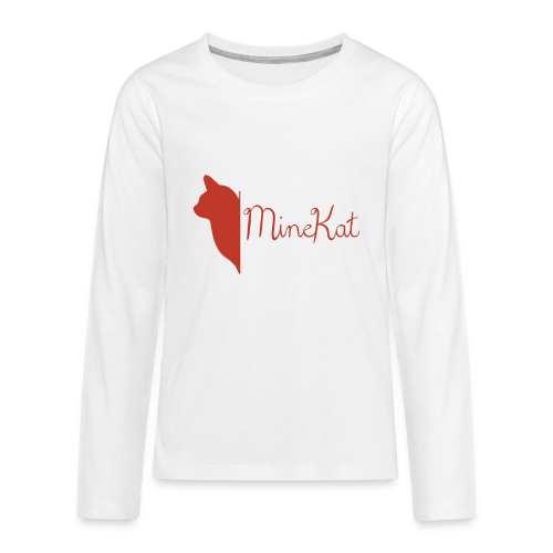 MineKat Teenager Long Sleeve| Unisex | 10-12 - Teenagers' Premium Longsleeve Shirt