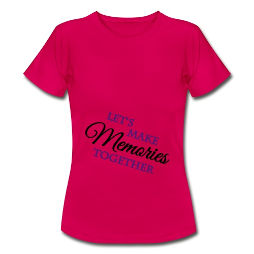 memories tshirt - Vrouwen T-shirt