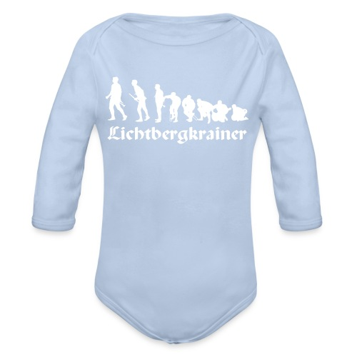 Evolution-Baby-Body - Baby Bio-Langarm-Body