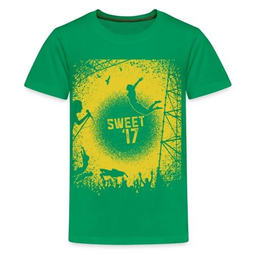 Sweet '17 Festival Summer Tee - Teenager Premium T-Shirt