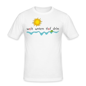 MD 2012 Sunrise Inselweit - Männer Slim Fit T-Shirt