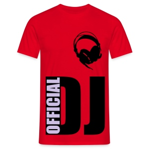 Official DJ casque - T-shirt Homme
