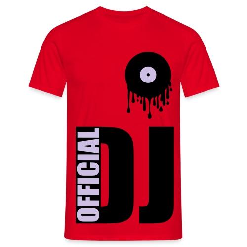 Official DJ vinyle - T-shirt Homme
