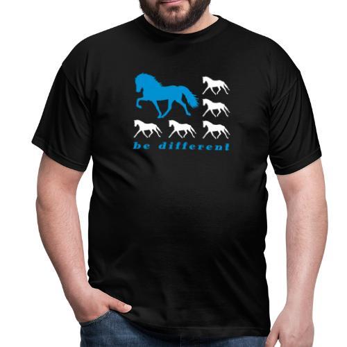 Be Different - Shirt Männer - Männer T-Shirt