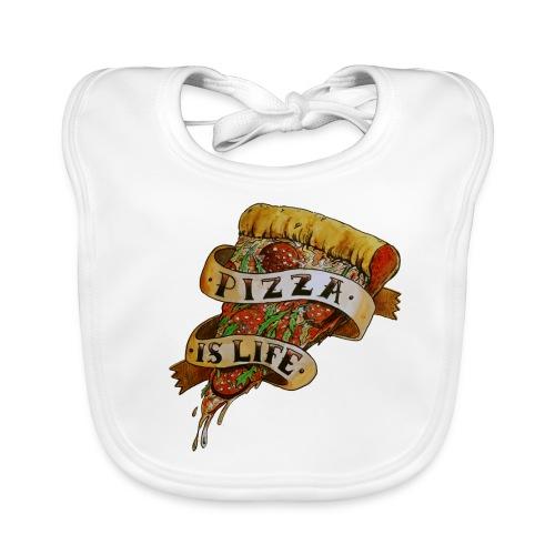 Pizza Is Life - Bavaglino