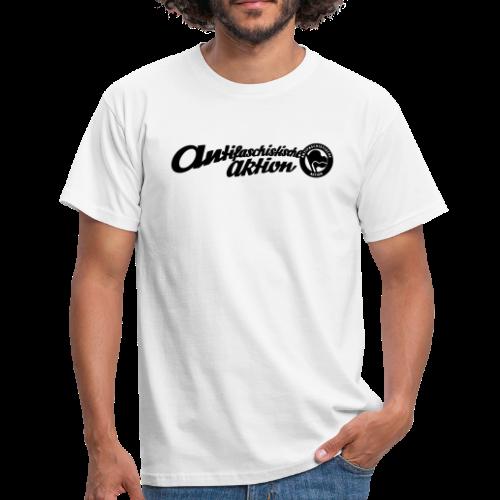 Logo Antifaschistische Aktion - Männer T-Shirt - Männer T-Shirt