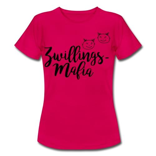 T-Shirt Zwillingsmama Mädchen (S-XXL)  - Frauen T-Shirt