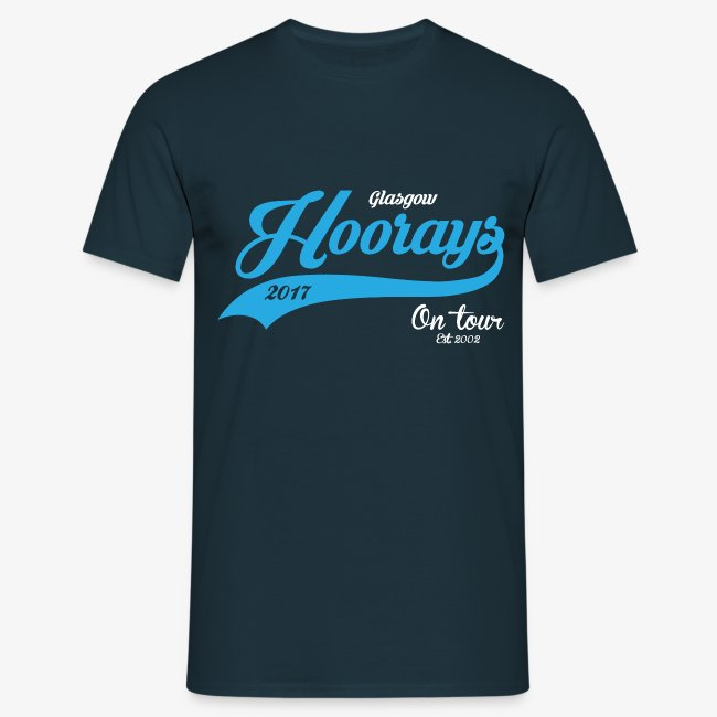 Hoorays on Tour 2017 Male T-shirt