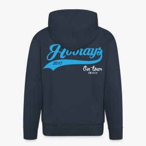 Hoorays on Tour 2017 Zip Hoodie - Men's Premium Hooded Jacket