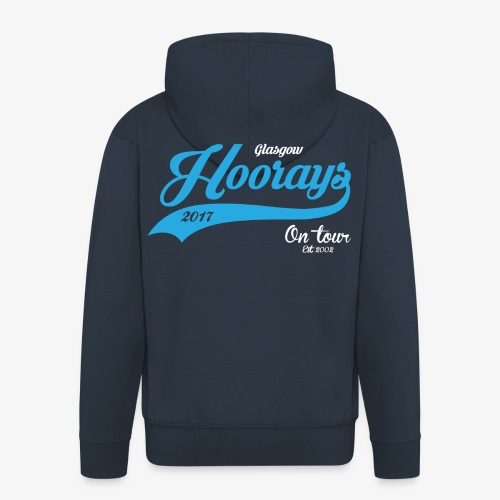 Hoorays on Tour 2017 Zip Hoodie - Men's Premium Hooded Jacket