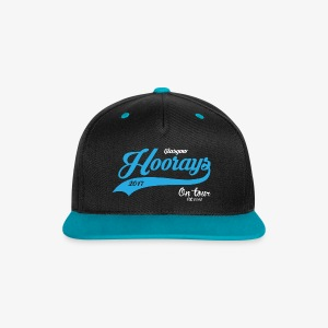 Hoorays on Tour 2017 - Blue Cap - Contrast Snapback Cap