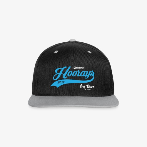 Hoorays on Tour 2017 - Grey Cap - Contrast Snapback Cap