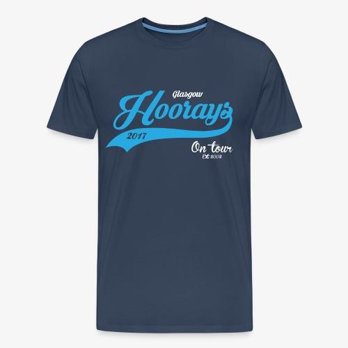 Hoorays on Tour 2017 Male T-shirt #2 - Men's Premium T-Shirt