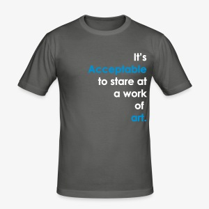 It's Acceptable  - Men's Slim Fit T-Shirt