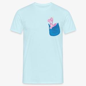 Pocket Dragon - Men's T-Shirt