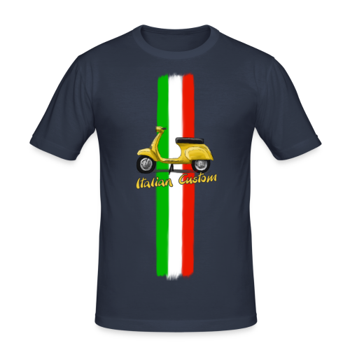 Italian Costom - Männer Slim Fit T-Shirt
