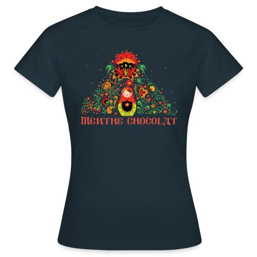 T-shirt Femme - Poupée Russe - T-shirt Femme