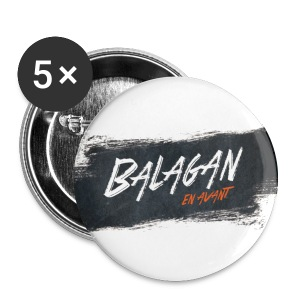 Balagan, badge/button, 25mm - Buttons small 25 mm