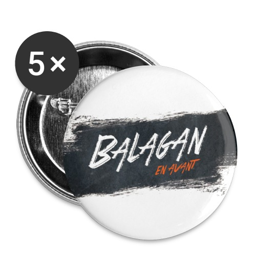 Balagan, badge/button, 25mm - Buttons small 1''/25 mm (5-pack)