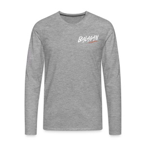Balagan, Grey T-shirt, long sleeves, logo, Guyz - Men's Premium Longsleeve Shirt
