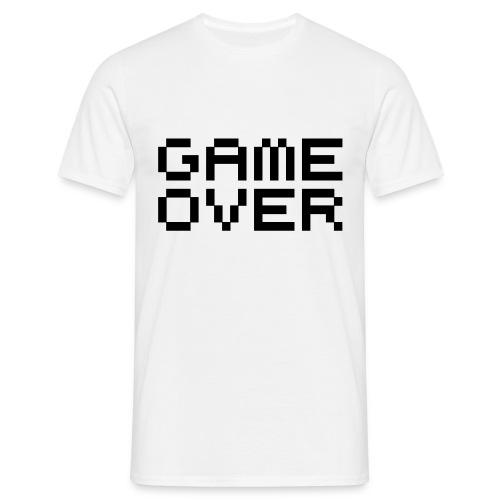 Camiseta Game Over - Camiseta hombre