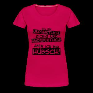 Ich bin hübsch! - Frauen Premium T-Shirt