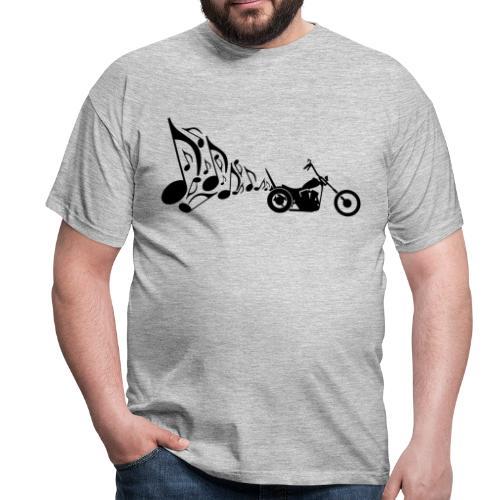 Escape moto Chopper. Música para los oídos - Camiseta hombre