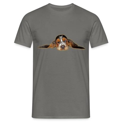 Wake up, Basset - Männer T-Shirt