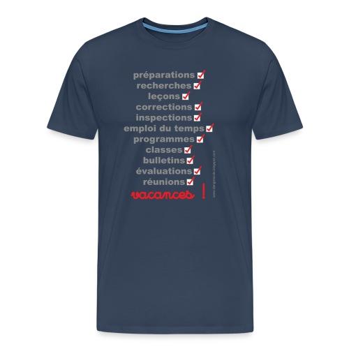 vacances - T-shirt Premium Homme