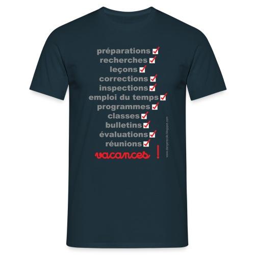 vacances - T-shirt Homme