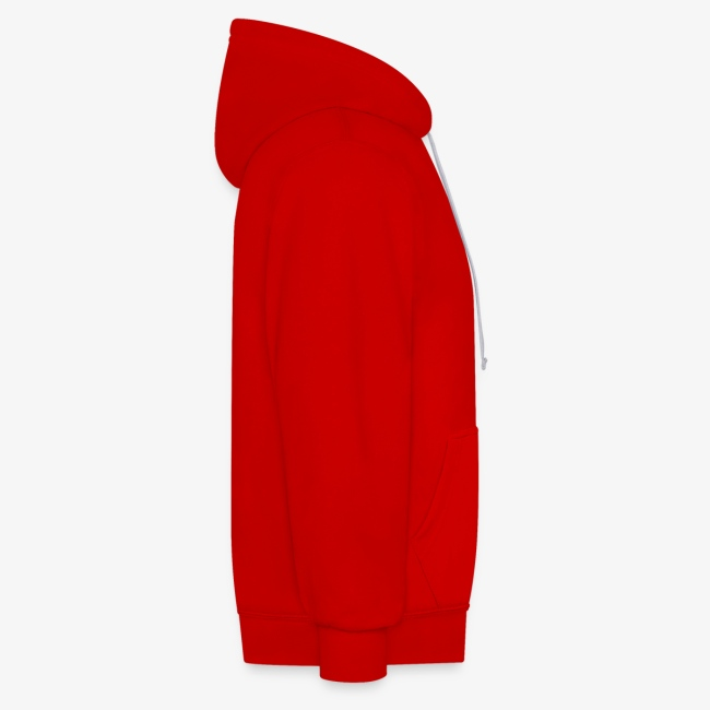 Baseball Style PREMIUM Hoodie - RED