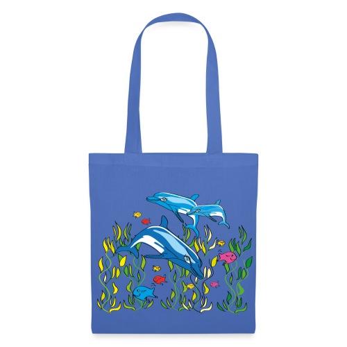 Delfine - Stoffbeutel