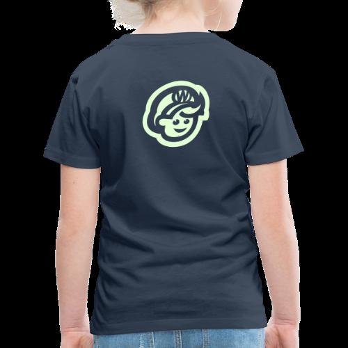 kids  T'SHIRT – Glowing in Dark – FRONT & BACK PRINT - Kids' Premium T-Shirt
