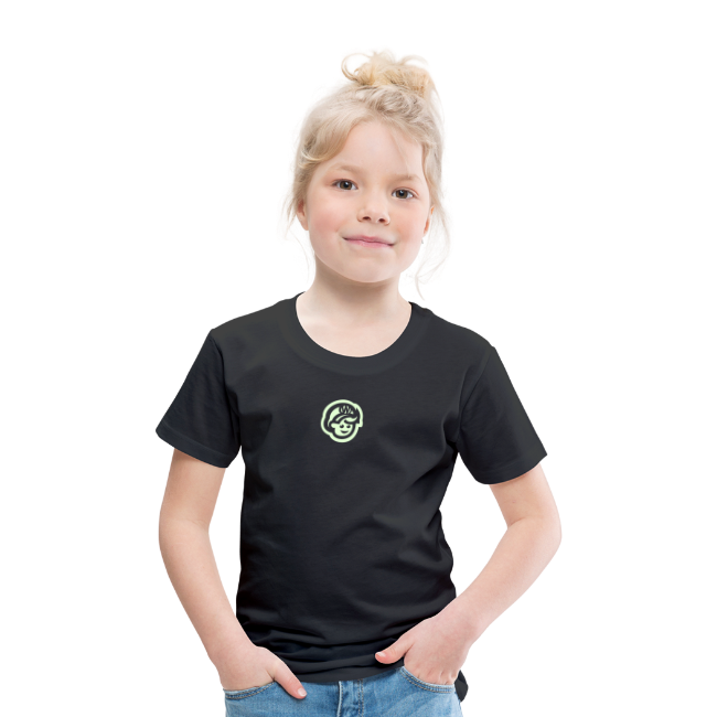 kids  T'SHIRT – Glowing in Dark – FRONT & BACK PRINT