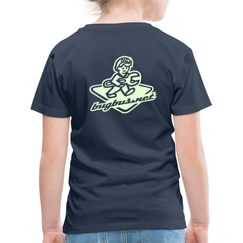kids  T'SHIRT – Glowing in Dark – FRONT & BACK PRINT - Kids' Premium T-Shirt
