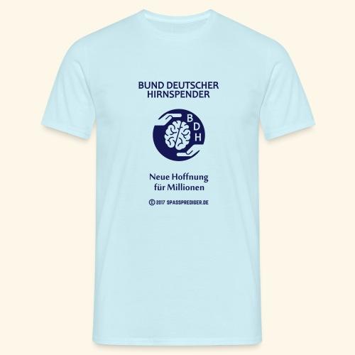 BDH - Bund deutscher Hirnspender - Männer T-Shirt