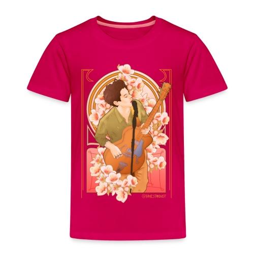 Floral Mucha kids shirt - Kids' Premium T-Shirt