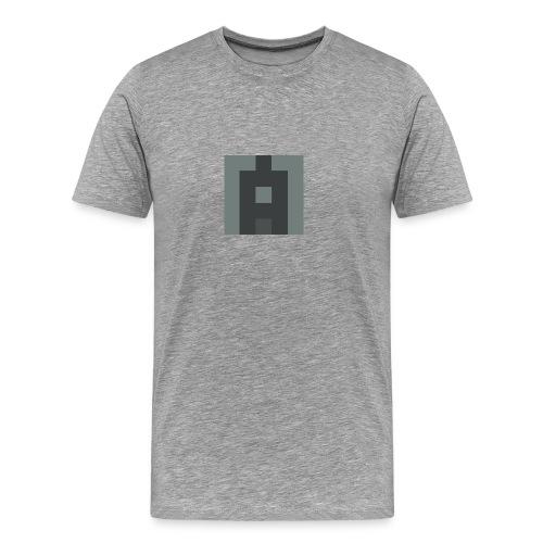 Lifealbum M grey - Herren Premium Shirt - Männer Premium T-Shirt