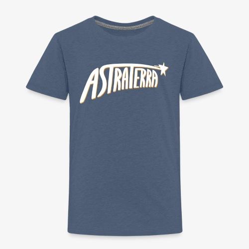 Astraterra - Logo - lasten - Lasten premium t-paita