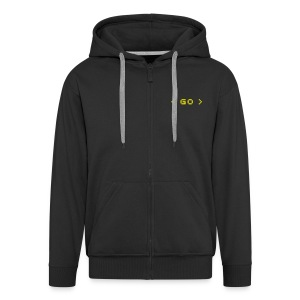 Go freelance Mens Hooded Jacket - Men's Premium Hooded Jacket