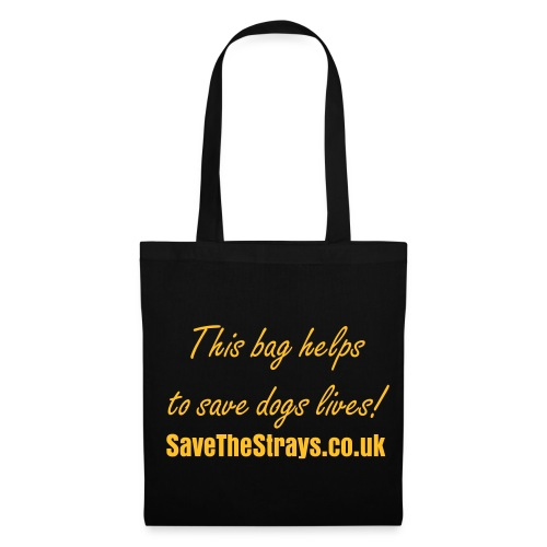 'This bag helps to save dogs lives!' bag - Tote Bag