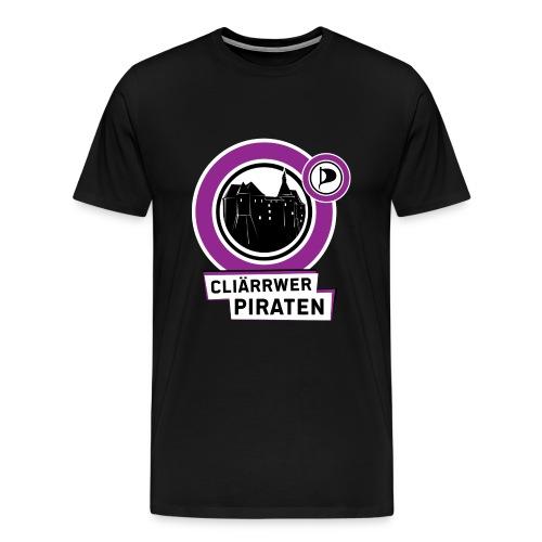 Cliärrwer Piraten - Männer Premium T-Shirt