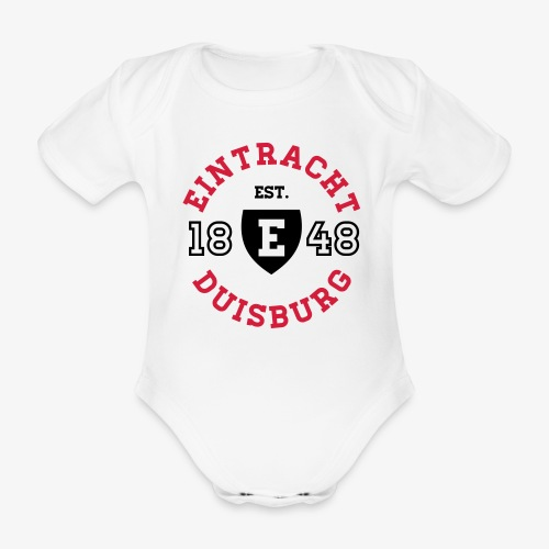 College Circle Baby Body - WHITE - Baby Bio-Kurzarm-Body