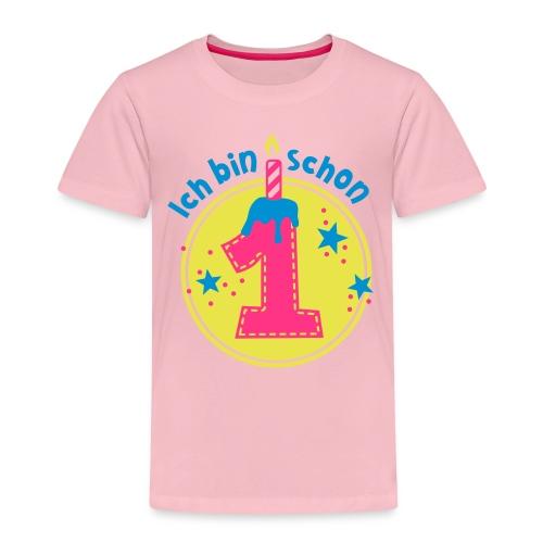 ich bin schon Eins - Kinder Premium T-Shirt