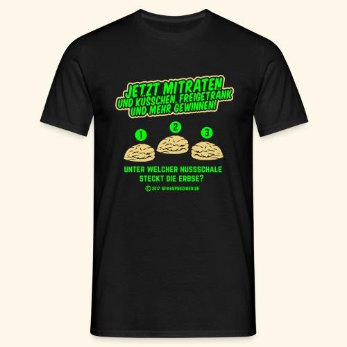 lustiges Flirt-Shirt Hütchenspiel - Männer T-Shirt
