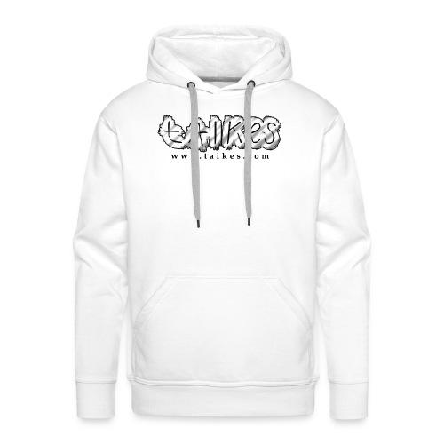 Shaded logo hood - Men's Premium Hoodie