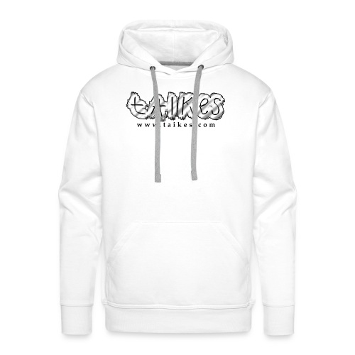Shaded logo hood - Men's Premium Hoodie
