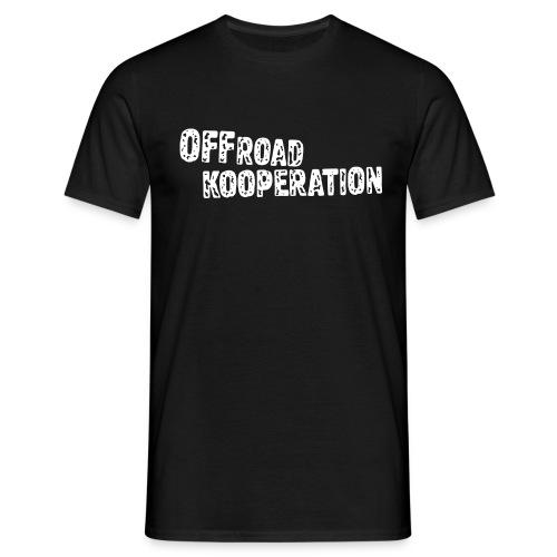 black/white - Männer T-Shirt