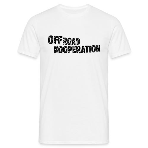 white/black - Männer T-Shirt